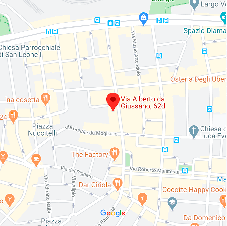 map of the MomaSOFT Srl headquarters